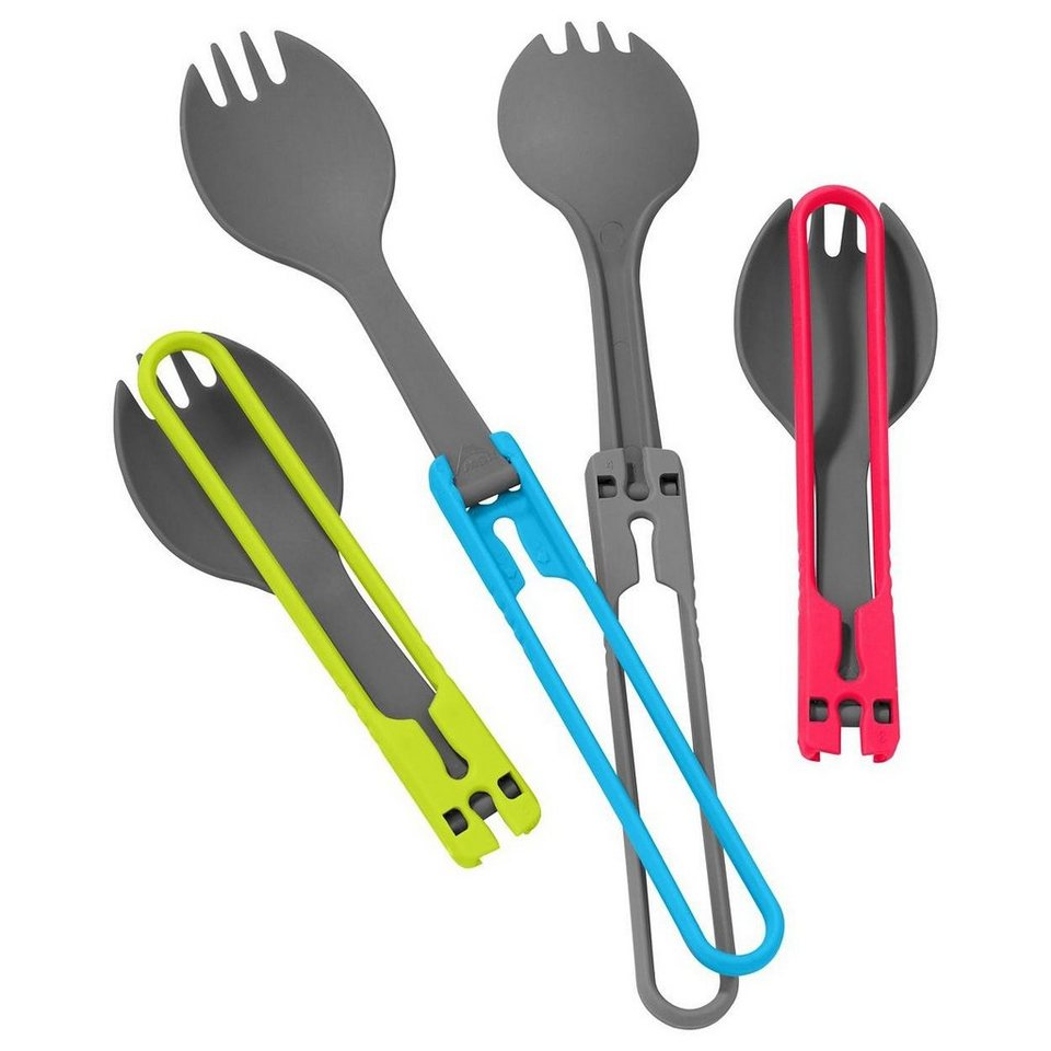 MSR Camping-Geschirr »Utensil Sporks Set« in rot