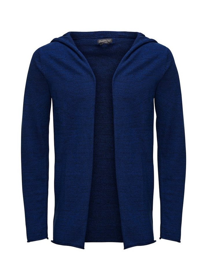 Jack & Jones Lässige Strickjacke in True Blue