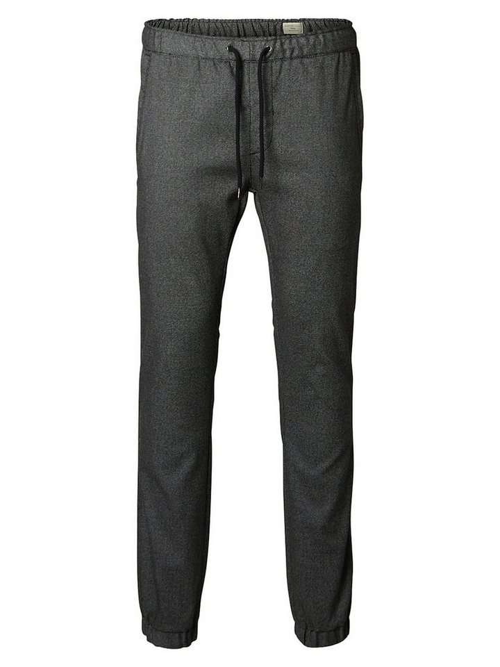 Selected Slim-Fit- Hose in Black