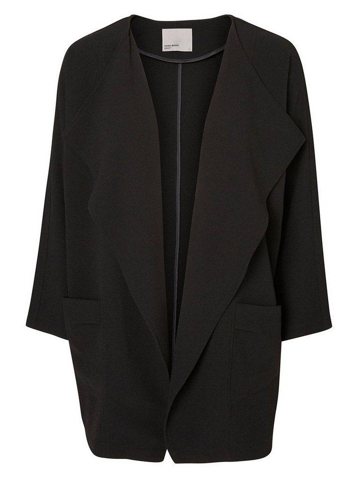 Vero Moda Drapierter Blazer in Black