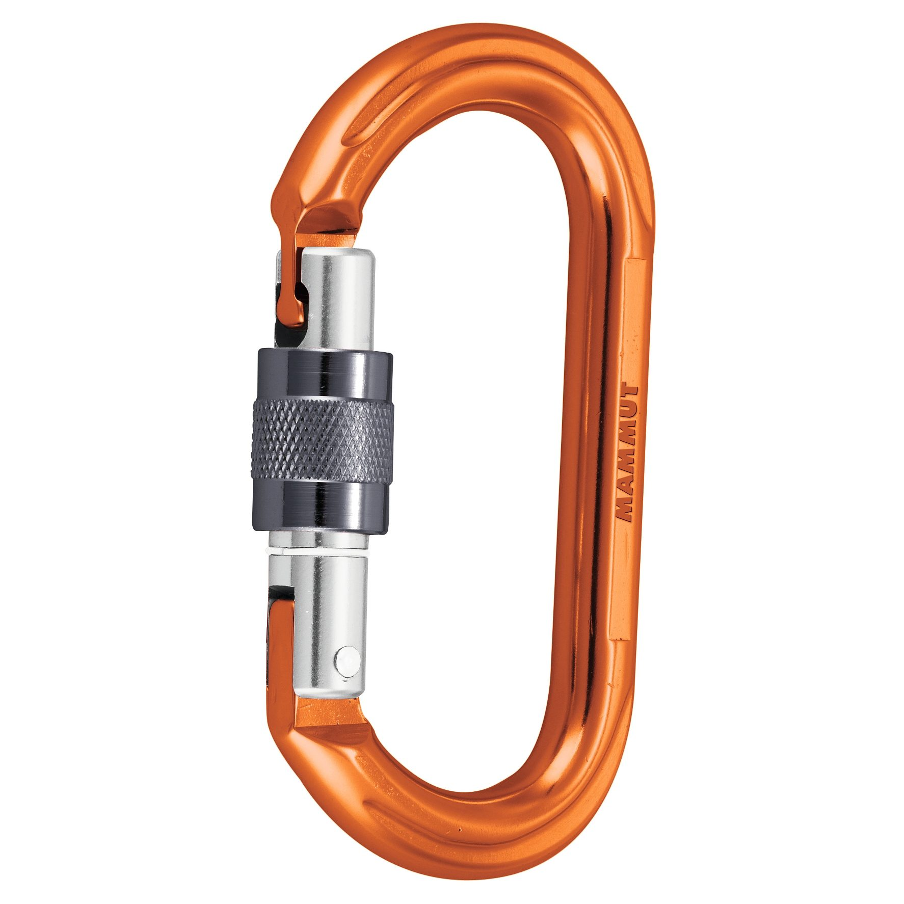 Mammut Karabiner »Wall Oval Screw Gate Carabiner«
