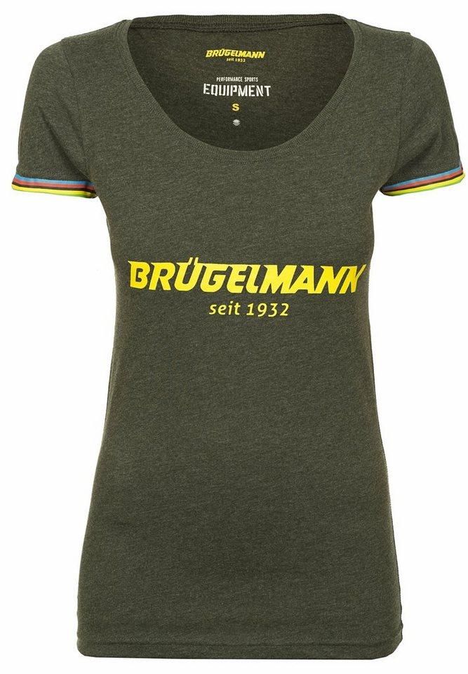 Brügelmann T-Shirt »Klassik Logo Shirt Damen« in grau