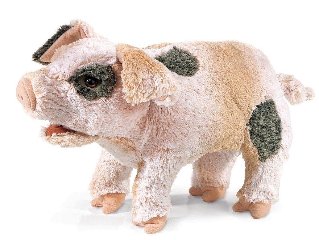 FOLKMANIS® Handpuppe, »Grunzendes Schwein«