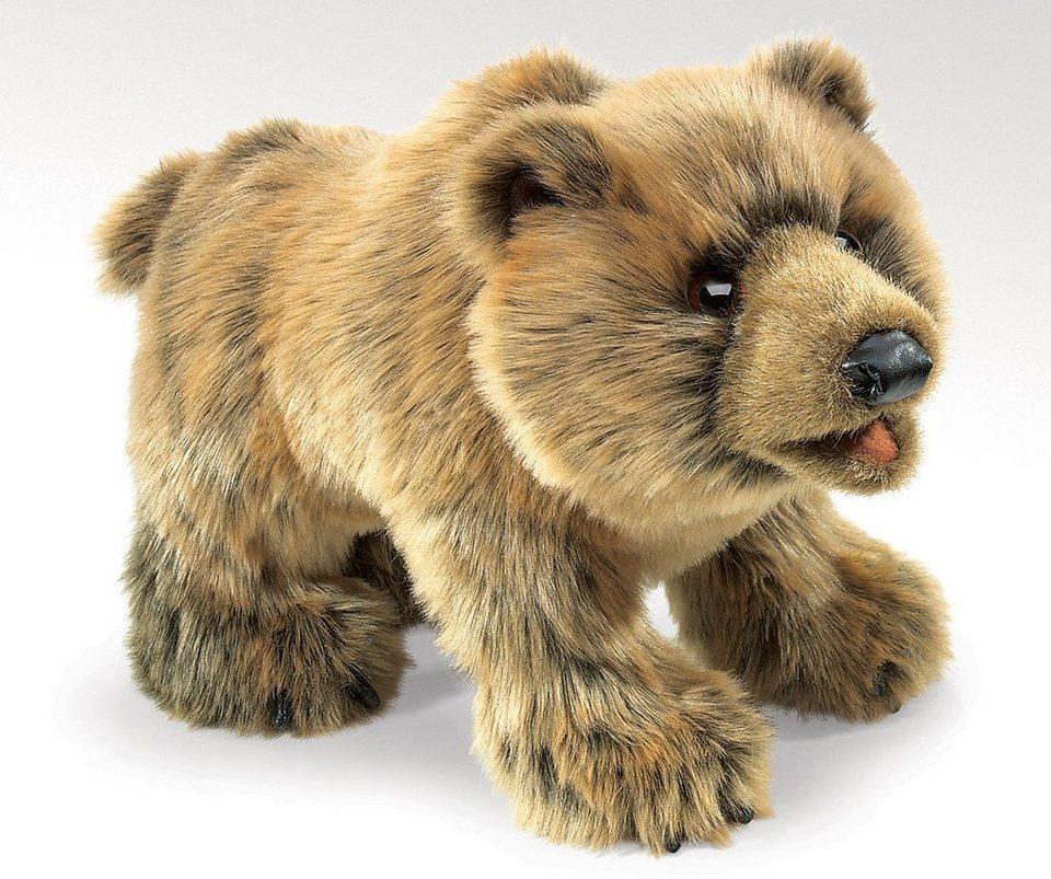 FOLKMANIS® Handpuppe,  Grizzlybär  online kaufen