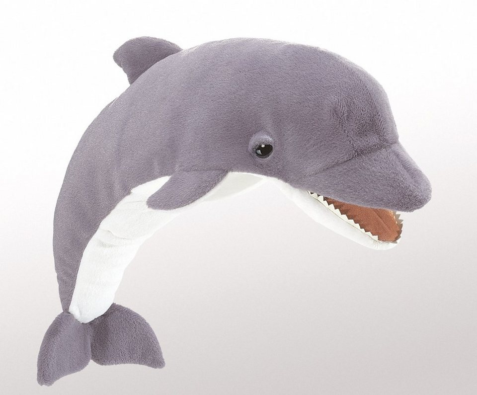 FOLKMANIS® Handpuppe, »Delfin« in grau