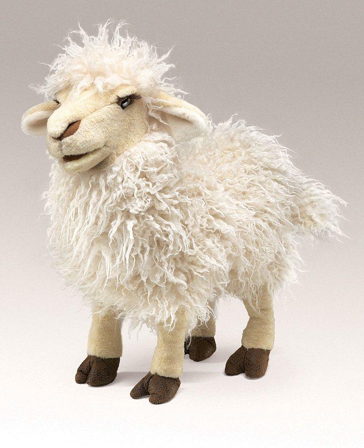 FOLKMANIS® Handpuppe, »Schaf« in weiß