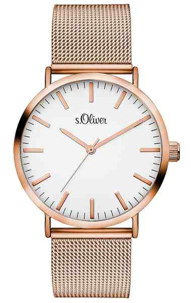 s.Oliver RED LABEL Quarzuhr »SO-3146-MQ«