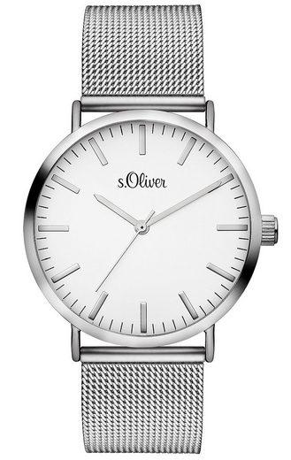 s.Oliver Quarzuhr »SO-3145-MQ«