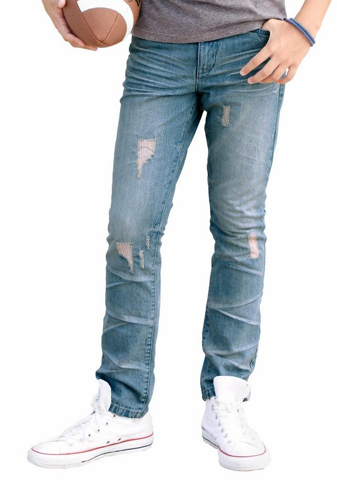 H.I.S Jeans Regular-fit, für Jungen in light blue