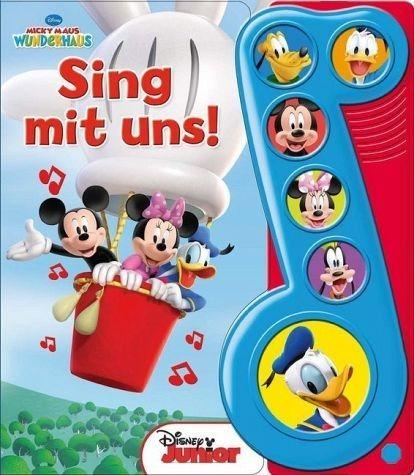 Buch mit Papp-Einband »Micky Maus Wunderhaus - Sing mit uns, m....«