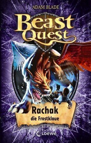 Gebundenes Buch »Rachak, die Frostklaue / Beast Quest Bd.42«
