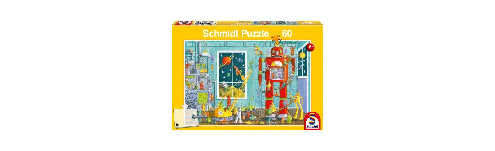 Schmidt Spiele Puzzle Roboter, 60 Teile