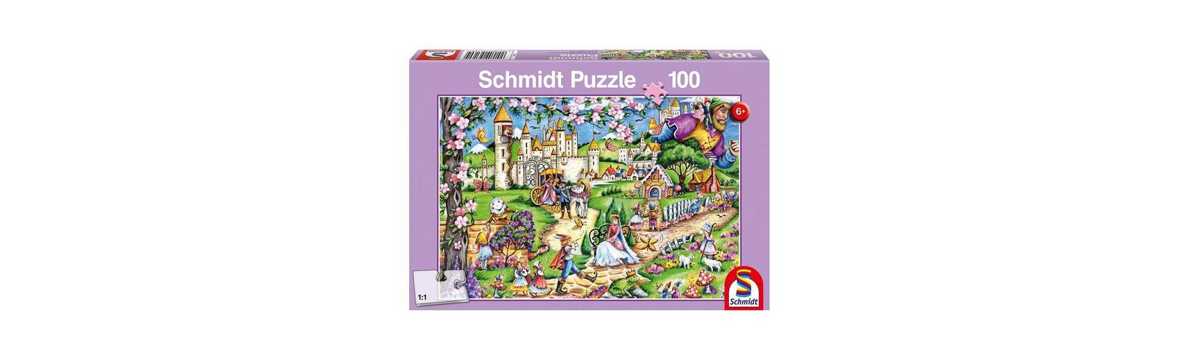 Schmidt Spiele Puzzle Märchenwelt, 100 Teile