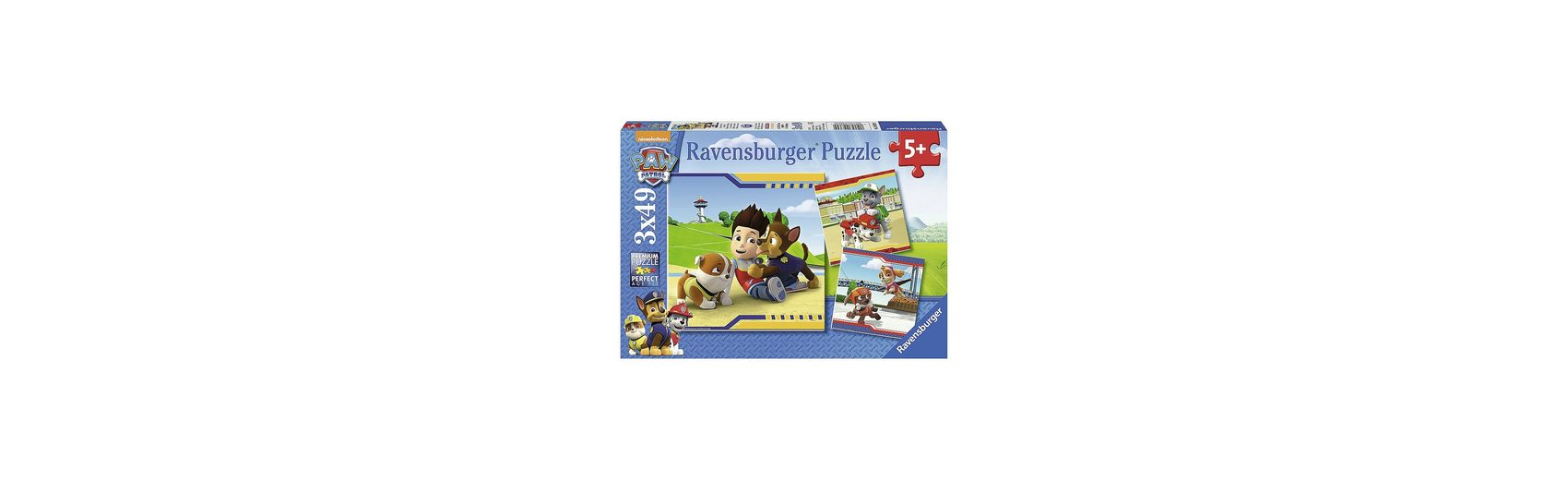 Ravensburger Puzzleset Paw Petrol: Helden mit Fell 3 x 49 Teile