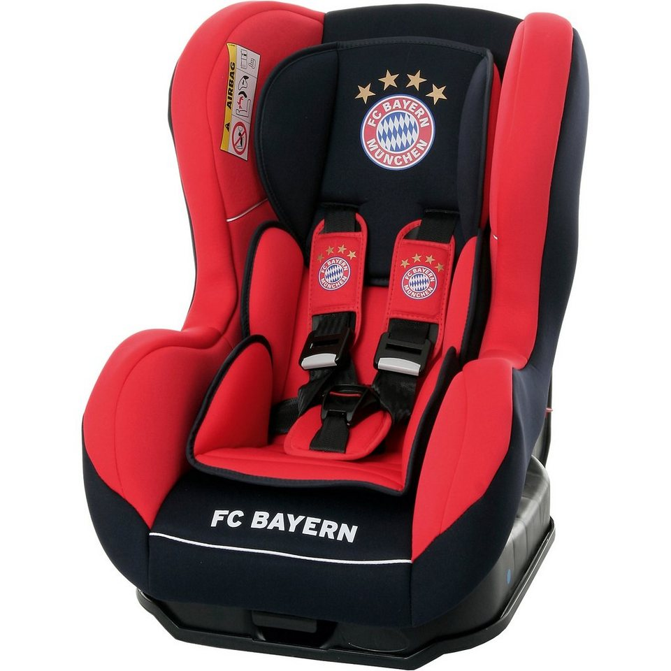 Osann Auto-Kindersitz Safety One, FC Bayern München, 2017 in rot