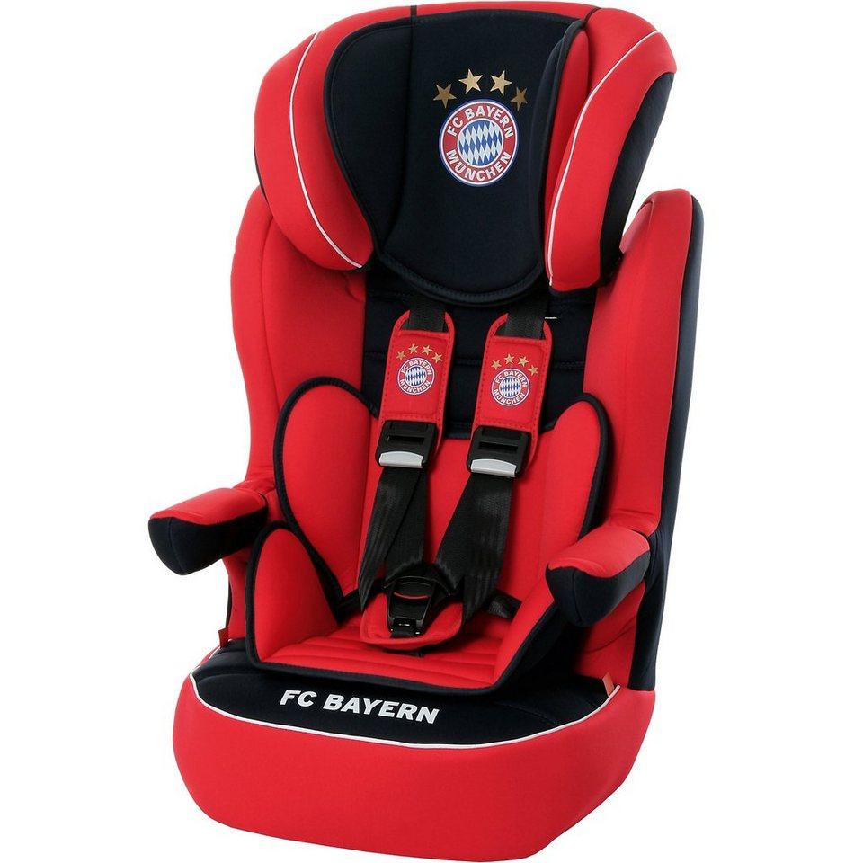Osann Auto-Kindersitz Comet, FC Bayern München, 2017 in rot