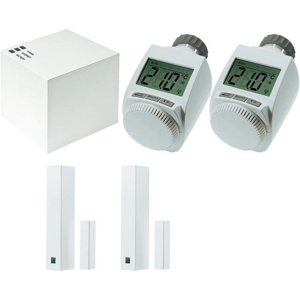 MAX! Smart Home Komfort - Starter Set »SET, Gateway/Fenster-Kontakt/Heizungssteller« in weiss