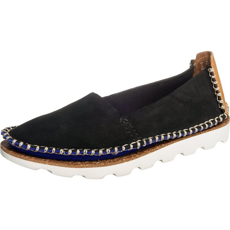 Clarks Damara Chic Slipper in schwarz