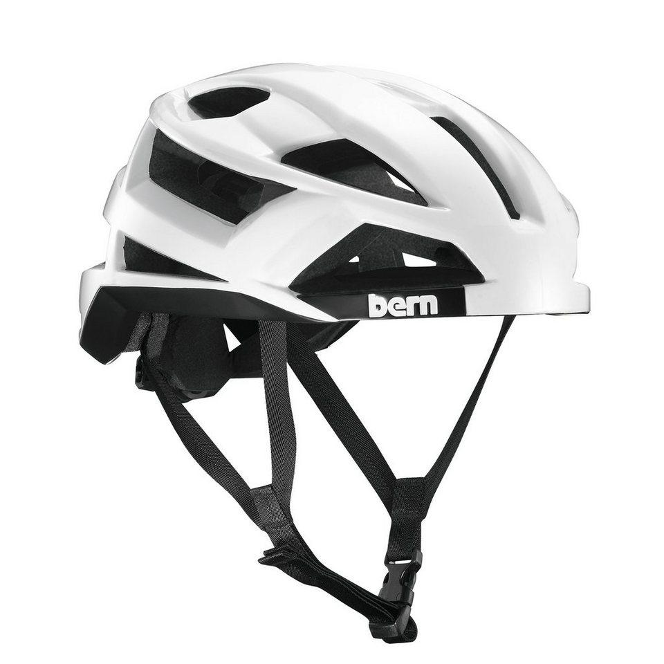 Bern Fahrradhelm »FL-1 Helm inkl. Mips Technologie« in weiß