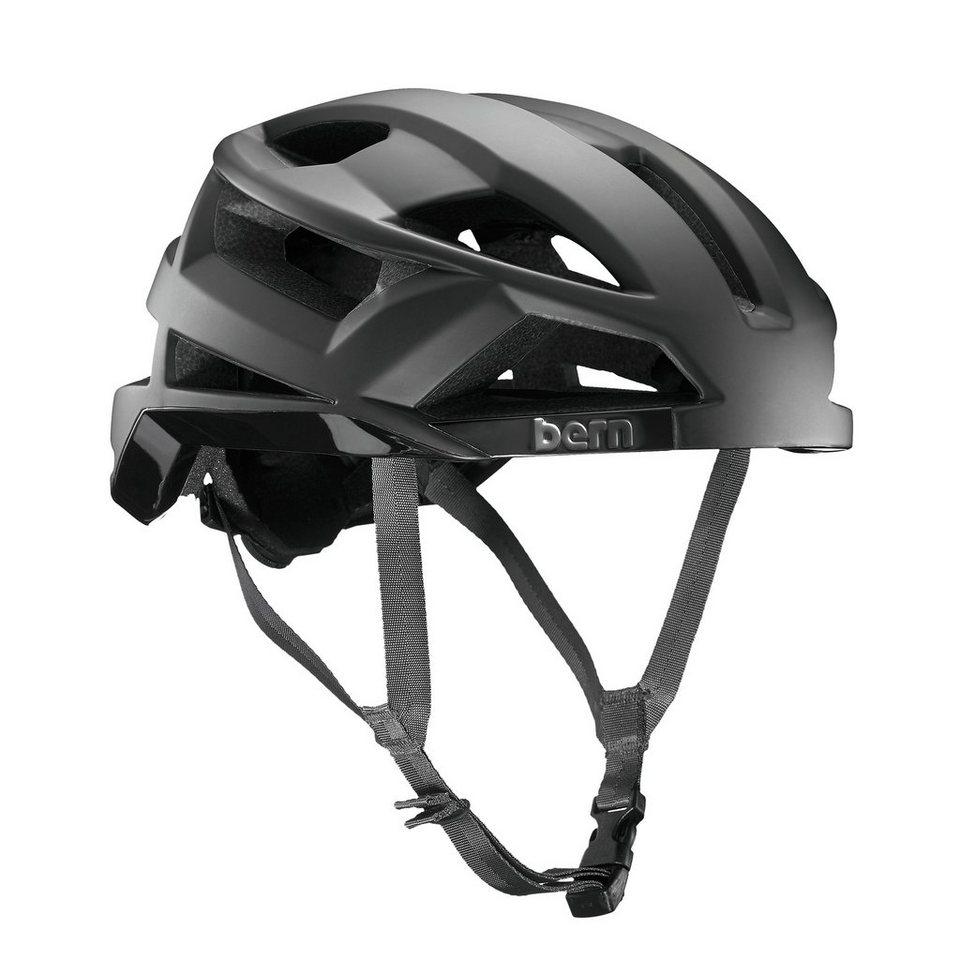 Bern Fahrradhelm »FL-1 Helm inkl. Mips Technologie« in schwarz