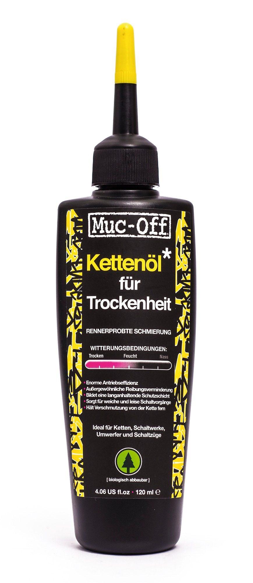 Muc-Off Fahrrad Reiniger »Dry Lube Kettenöl für Trockenheit 120 ml«