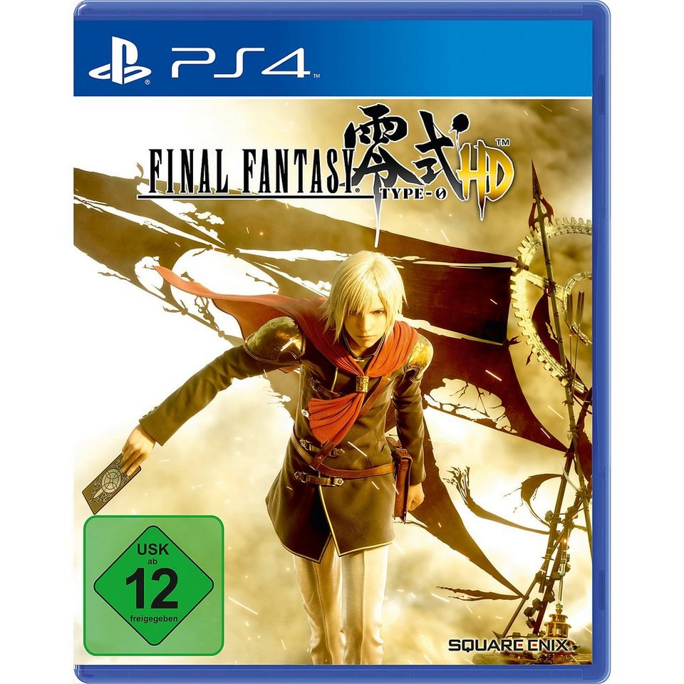 ak tronic PS4 Final Fantasy Type-0