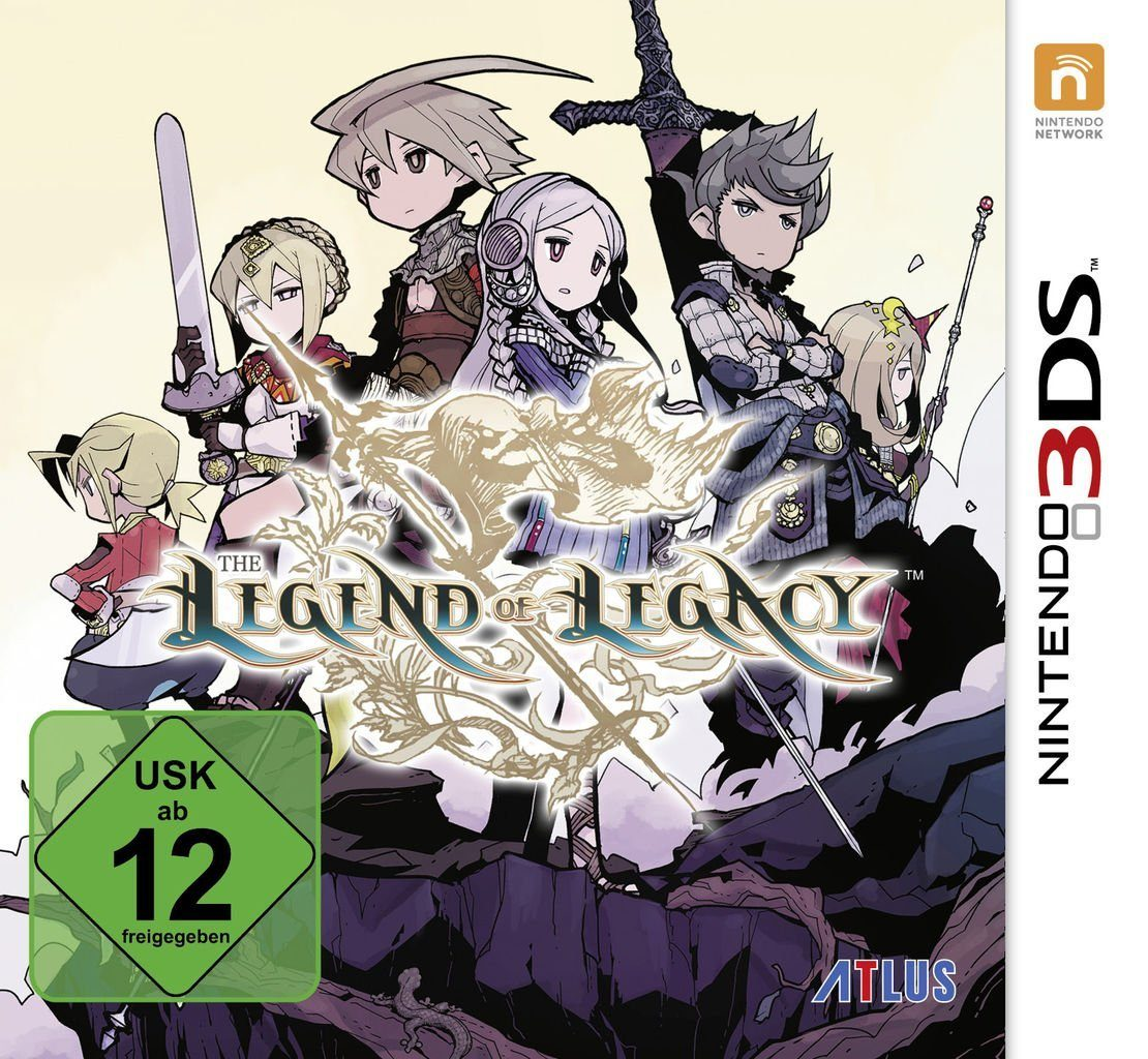 Atlus Nintendo 3DS - Spiel »The Legend of Legacy«
