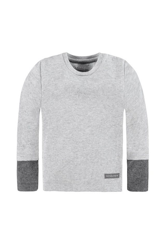 BELLYBUTTON Sweatshirt Baby in silver melange