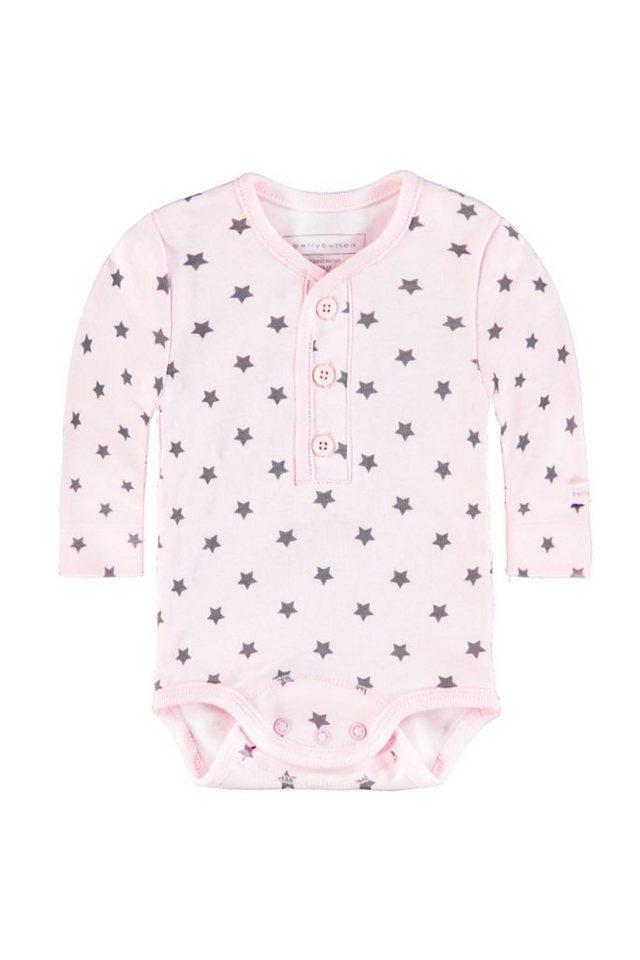 BELLYBUTTON Langarmbody »Baby mit Sternchen« in cradle pink