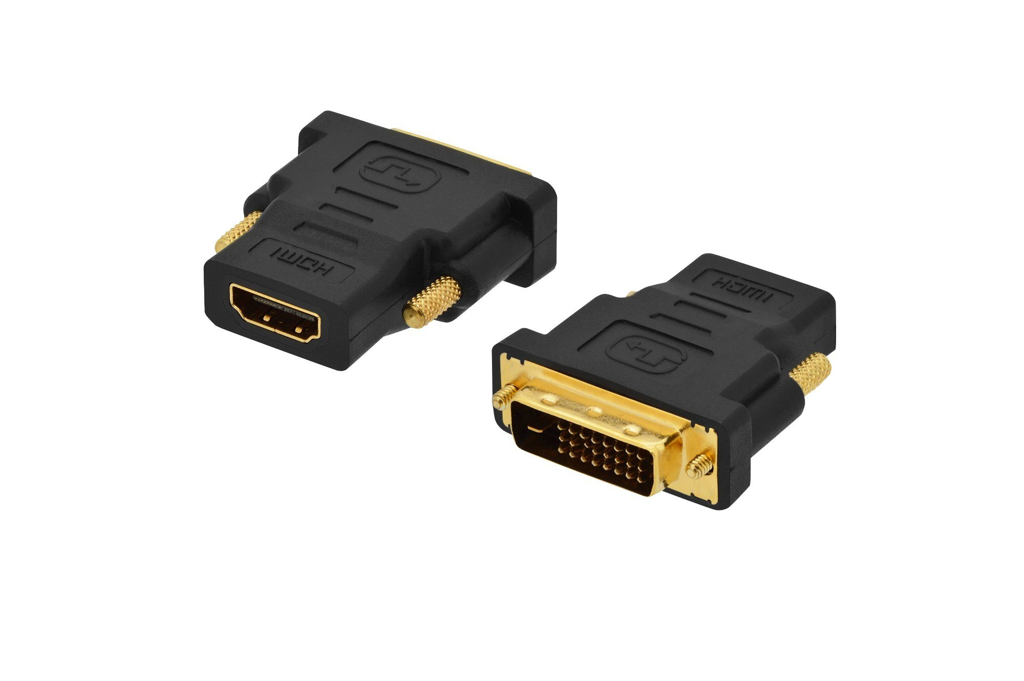 Ednet DVI »DVI Adapter, DVI(18+1)-HDMI Typ A, St/Bu«