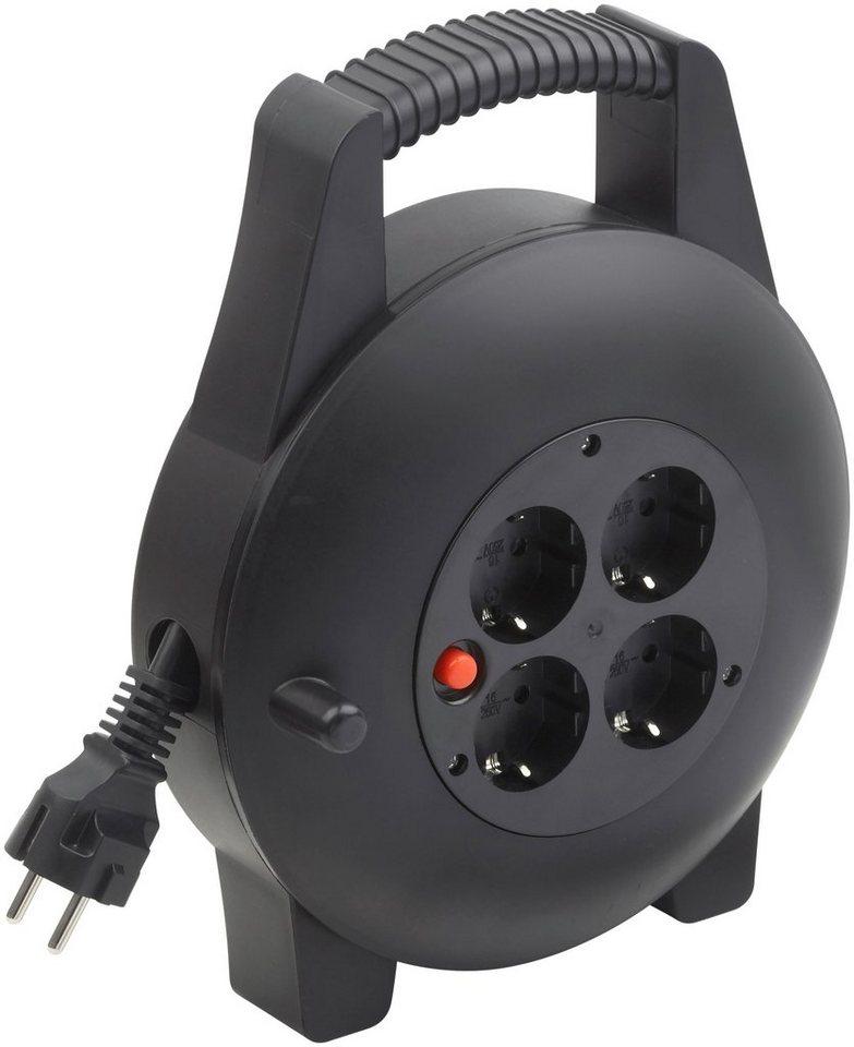 Kabelbox »10 m« in schwarz