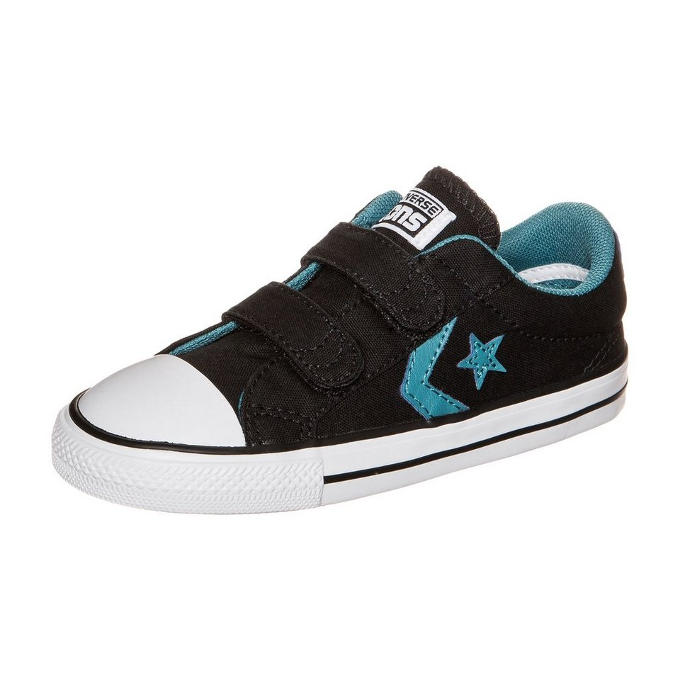CONVERSE Star Player EV 2V OX Sneaker Kleinkinder in schwarz / blau