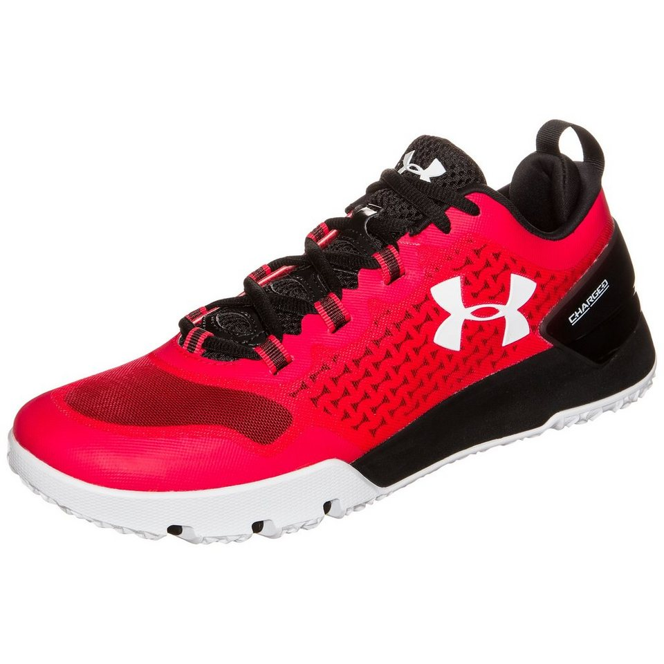 Under Armour® Charged Ultimate Trainingsschuh Herren in rot / schwarz / weiß