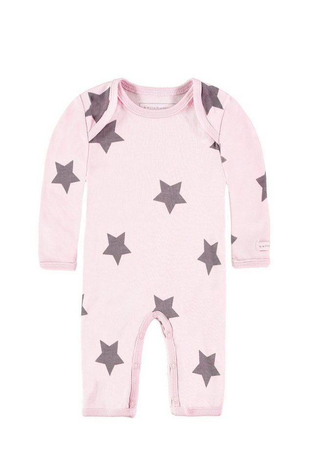 BELLYBUTTON Strampler »mit großen Sternen« in cradle pink