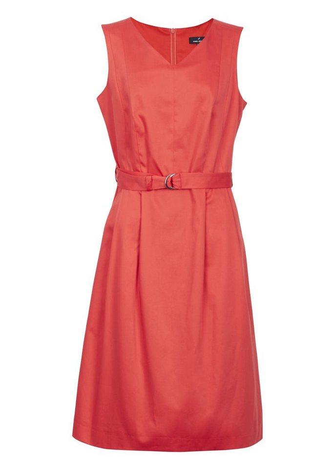 Daniel Hechter Sommerliches Kleid »Narcisse« in rot