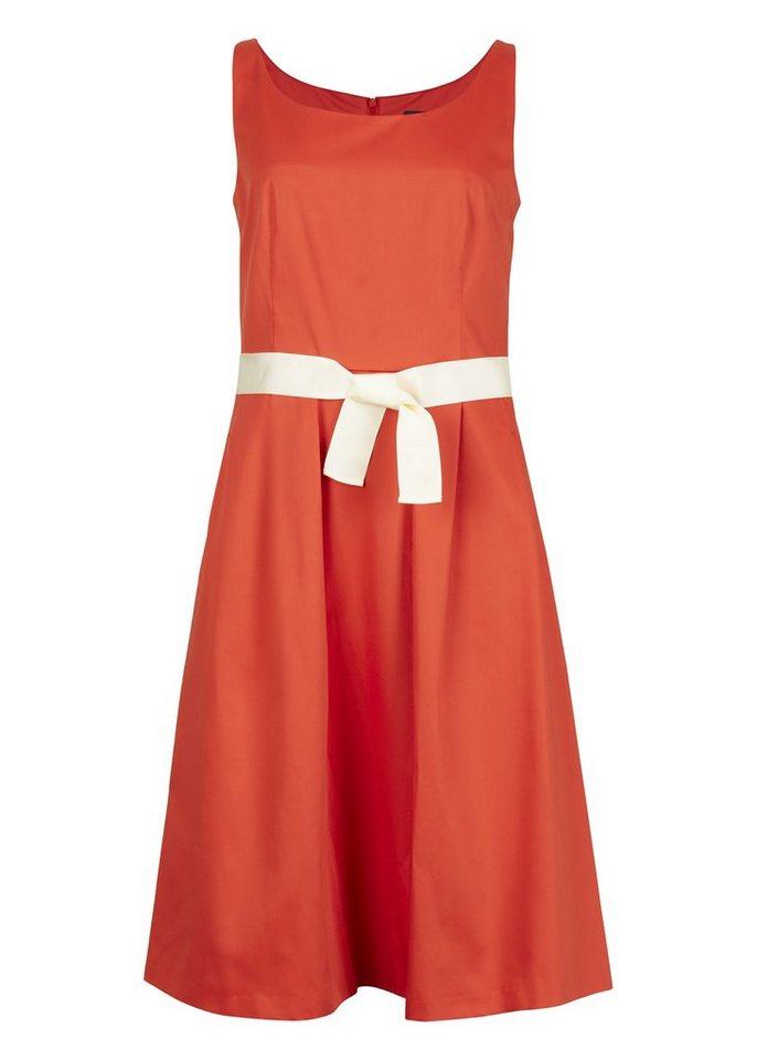 Daniel Hechter Sommerliches Kleid »Pointee« in rot