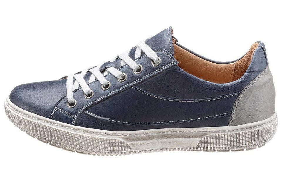 Eddie Bauer Leder-Sneaker in Blau