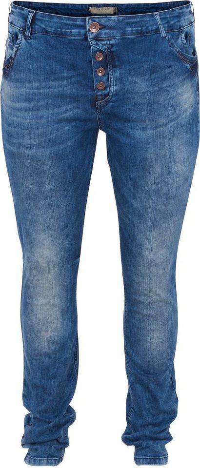 Zizzi Jeans in Dark blue