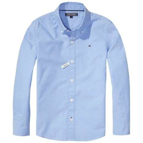 Tommy Hilfiger Hemden »SOLID OXFORD SHIRT L/S.« in Light Blue