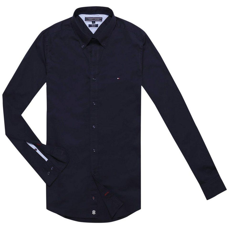 tommy hilfiger hemden stretch poplin sf2 kaufen otto. Black Bedroom Furniture Sets. Home Design Ideas