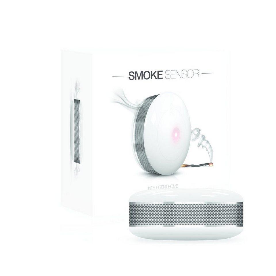 Fibaro Smart Home Zubehör »Rauchwarnmelder - Z-Wave« in Weiß
