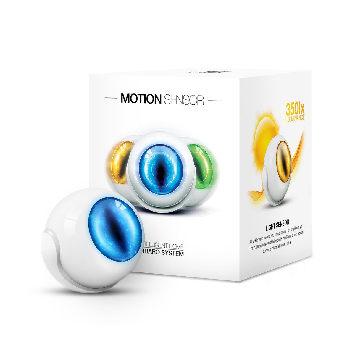 Fibaro Smart Home Zubehör »Motionsensor GEN5 - Z-Wave Plus«
