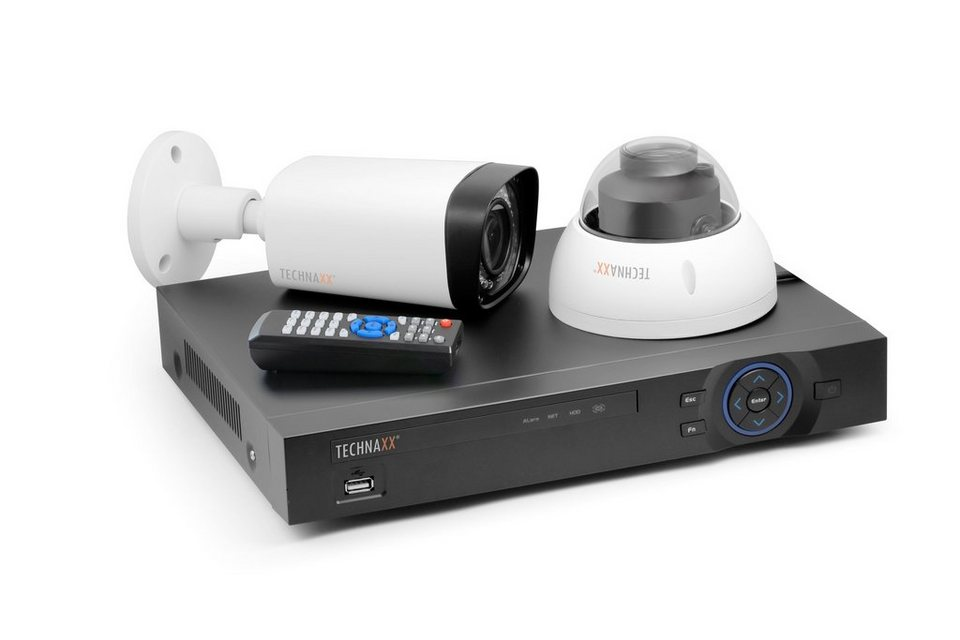 Technaxx Überwachungskamera »Maxi Security Kit PRO FullHD 1080P TX-50«