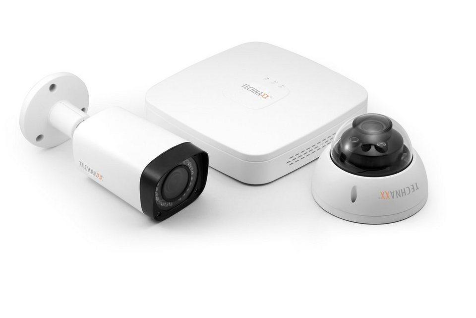Technaxx Überwachungskamera »Midi Security Kit PRO FullHD 1080P TX-51«