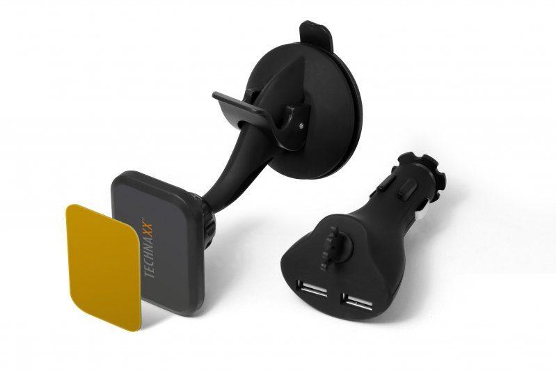 Technaxx Halterung »Magnet Multi Charger Kit TE09«