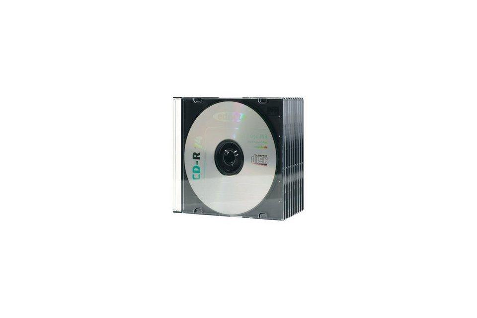 Ednet CD-Tasche »CD SLIM CASE 5 mm 10 Stück/Packung«