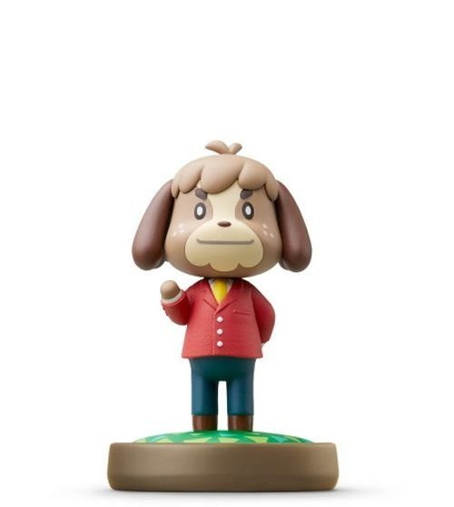 Nintendo Wii U - Spiel »amiibo Animal Crossing Moritz«