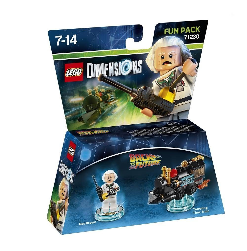 Warner Games Fanartikel »Lego Dimensions Fun Pack BTTF - Doc Brown«