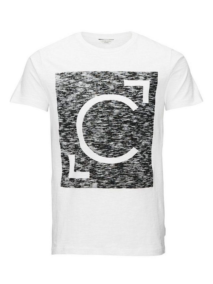 Jack & Jones Bedrucktes T-Shirt in White