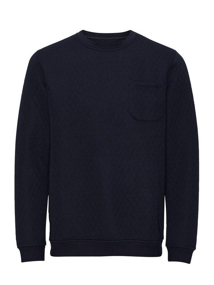 Jack & Jones Rundhalsausschnitt- Sweatshirt in Navy Blazer